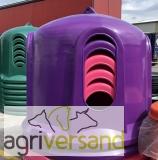 JFC HB01  Heuglocke/raufe aus Kunststoff für Pferde - VIOLETT Sondermodell